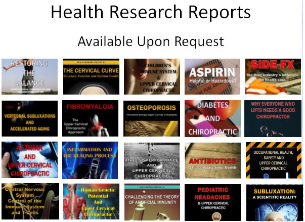 """""""Chiropractic Helps"""" Reports Now Available"""