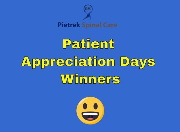 Patient Appreciation Days Winners June 10th & 11th 2019
